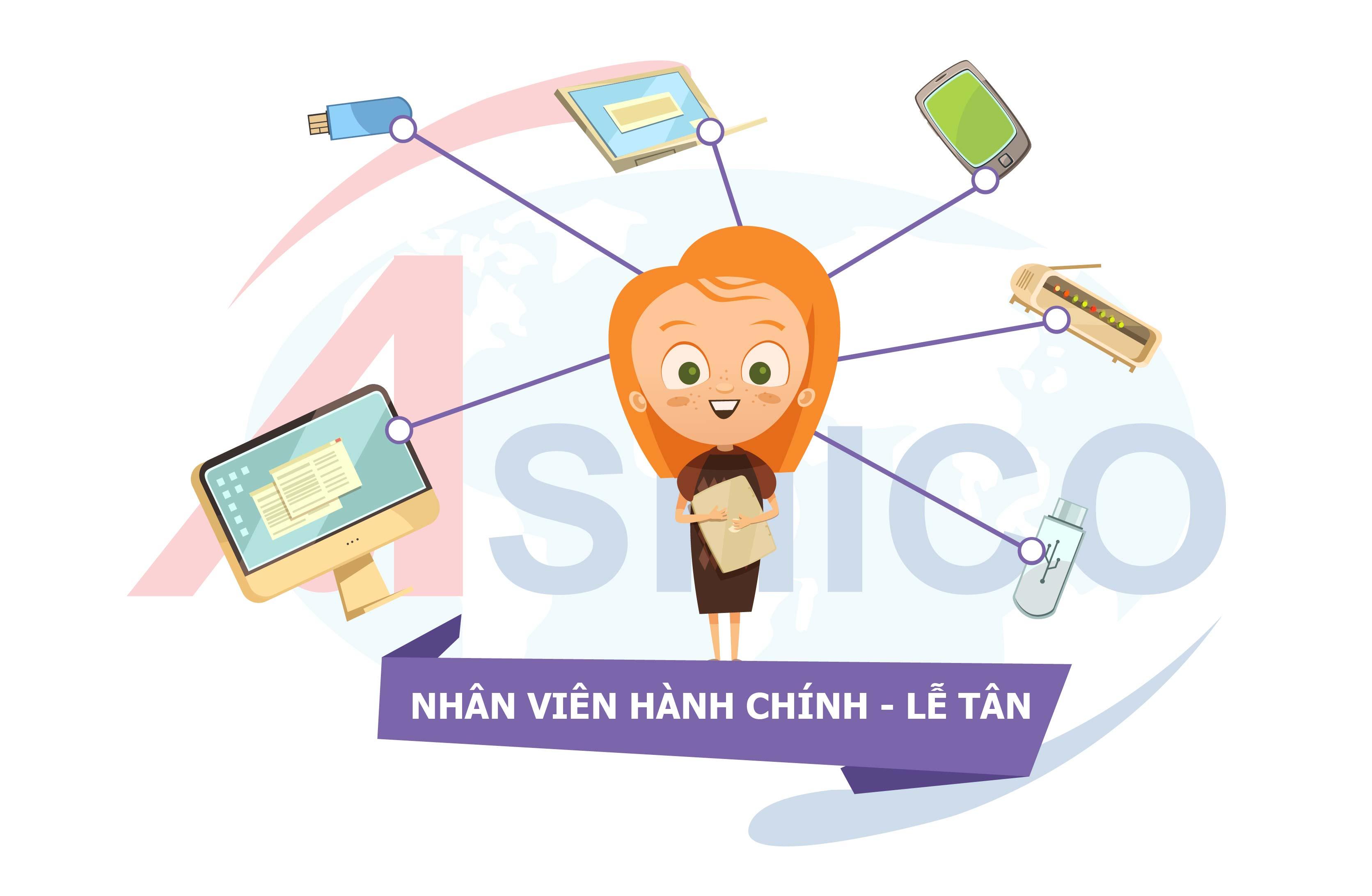 Tuyển dụng vị trí Nhân viên Hành chính - Lễ tân tại Hà Nội