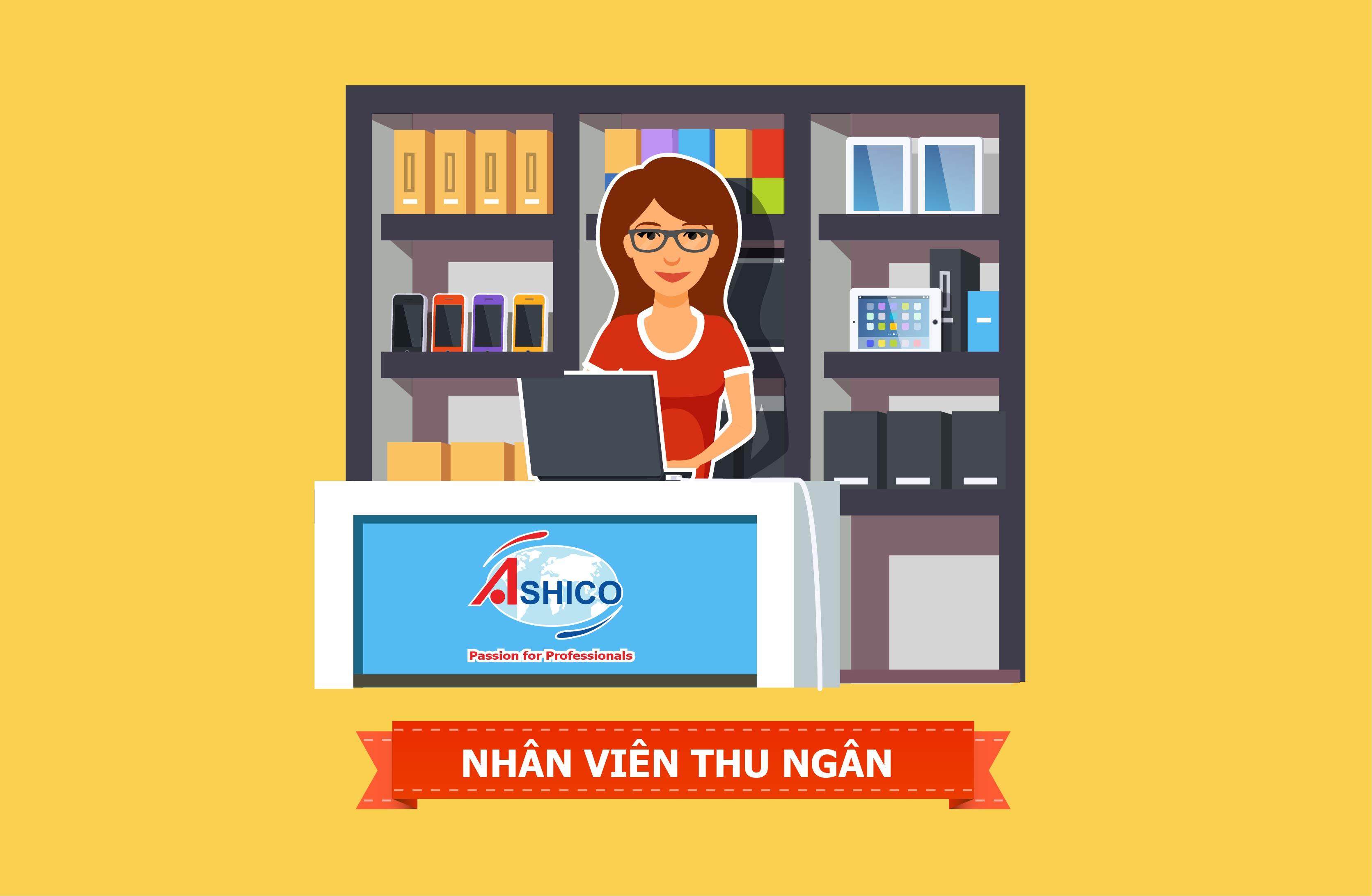 Tuyển dụng nhân viên thu ngân tại chi nhánh Hà Nội