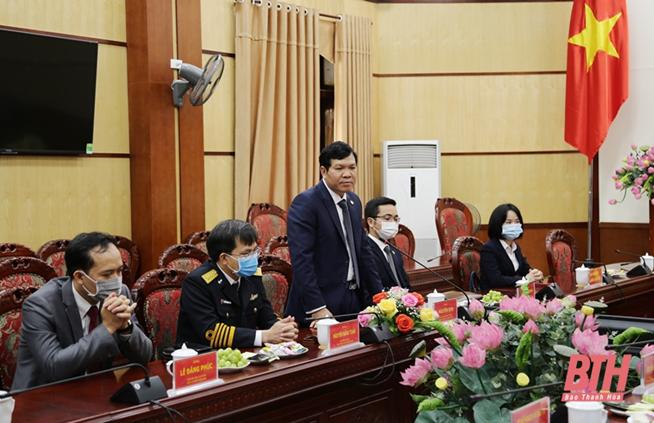 Lễ ký kết Biên bản ghi nhớ đầu tư Dự án xây dựng Trung tâm Logistics Bắc Trung Bộ và hạ tầng Khu công nghiệp số 6 tại Khu Kinh tế Nghi Sơn